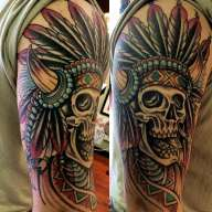 AndrewEdlin_AirwayHeights_NativeTattoo_Skull_Traditional_cheney-min